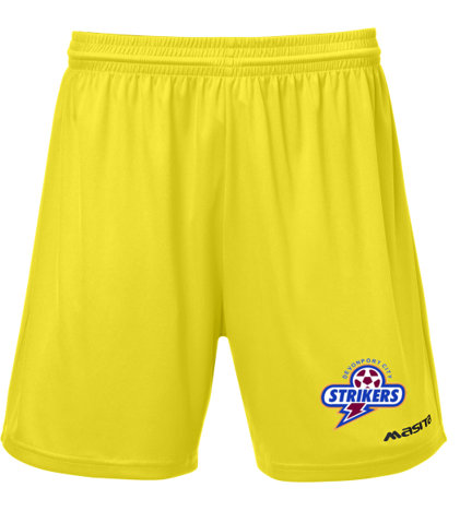 Devonport Lima Training Short Yellow