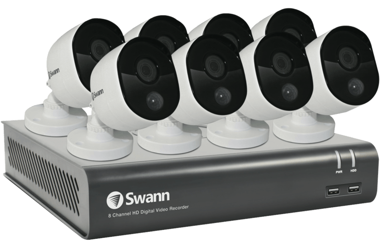 Swann Communications 1080P DVR Thermal Camera 8 Unit Kit 1TB