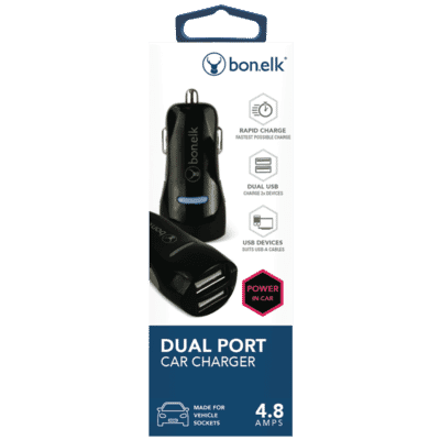Dual Port 4.8A USB Car Charger