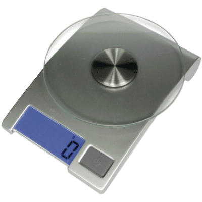 Electronic Kitchen Scale with Glass Platform