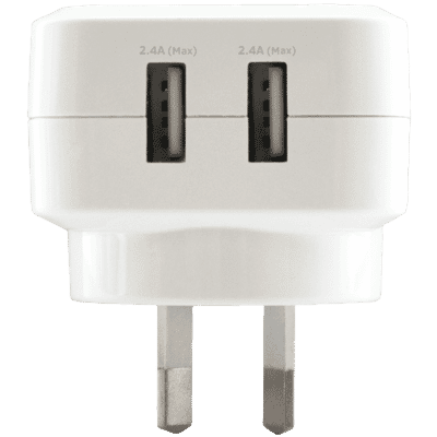 Dual Port 3.4A USB AC Wall Charger